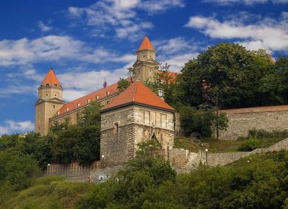 Словакия. Братиславский замок.